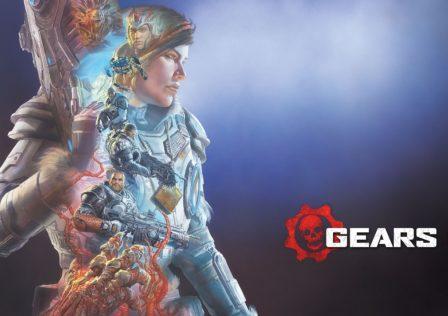Gears 5 Alex Ross Horizontal Key Art
