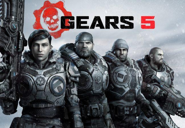 Gears 5 Secondary Horizontal Squad Key Art